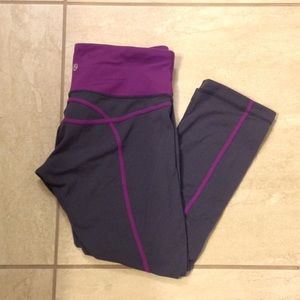 Lululemon lulu 🍋 crop leggings 6